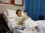 Hamish in Hospital