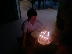 Hamish's 10th birthday